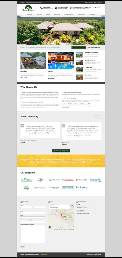 Tru-Built Website'