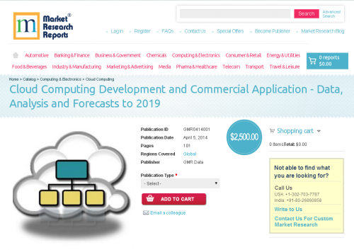 Cloud Computing Development and Commercial Application'