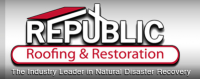 Republic Roofing & Restoration Logo