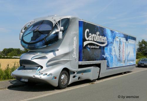 A Future Self-Driving Truck'
