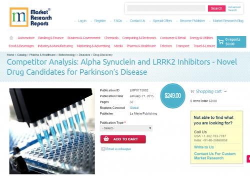 Alpha Synuclein and LRRK2 Inhibitors - Novel Drug Candidates'
