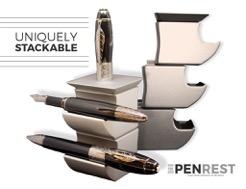 The Pen Rest - Uniquely Stackable for all your pens'