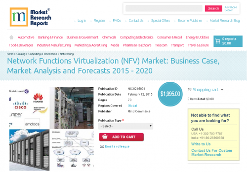 Network Functions Virtualization (NFV) Market'