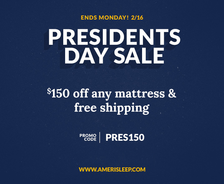 Amerisleep President's Day Memory Foam Mattress De