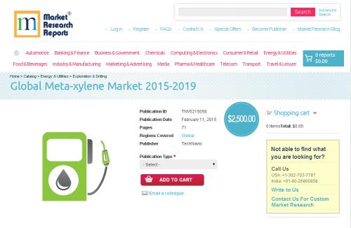 Global Meta-xylene Market 2015-2019'