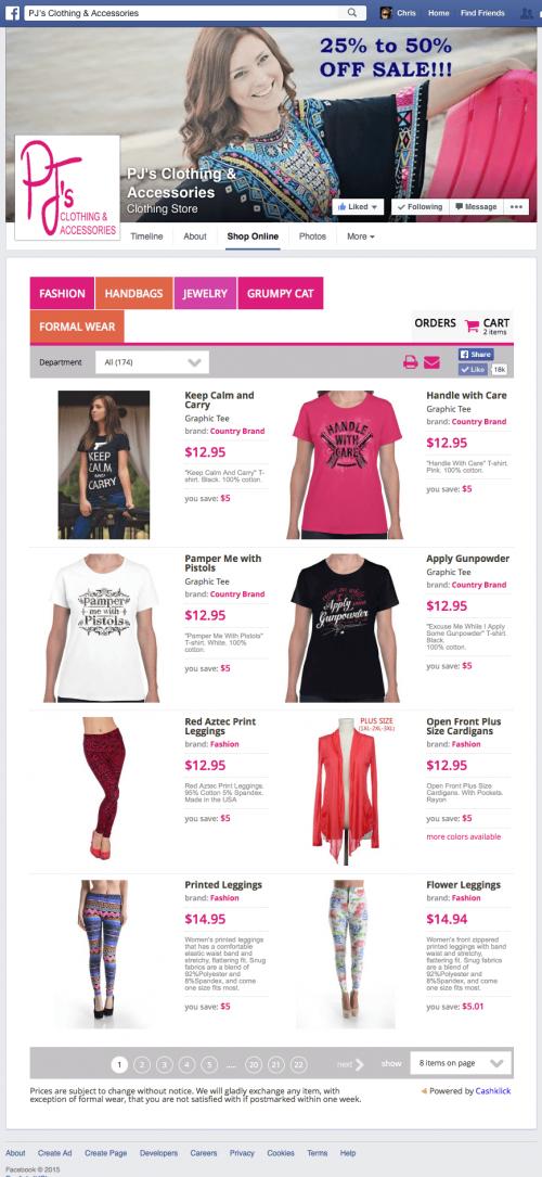 Zstore for e-commerce'