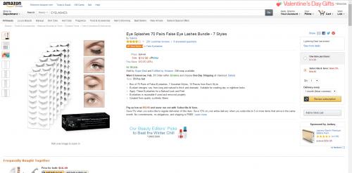 Amazon Eye Splashes Screenshot 2'