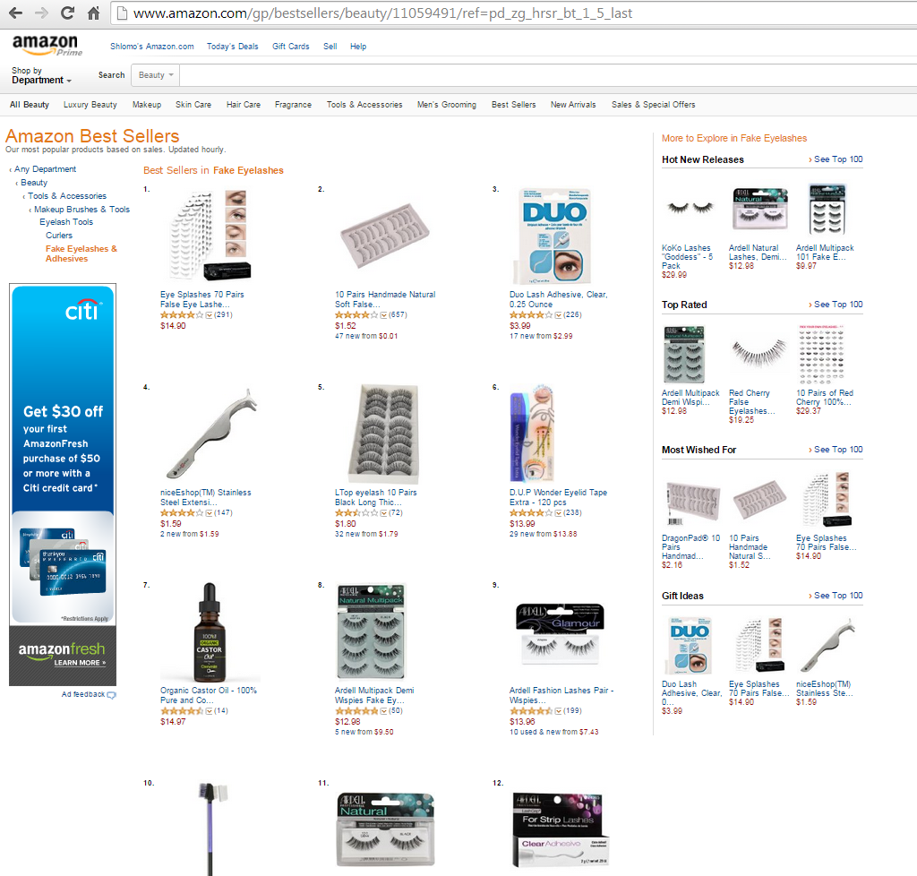 Amazon Eye Splashes Screenshot 3