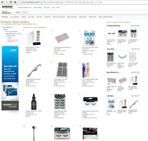 Amazon Eye Splashes Screenshot 3'