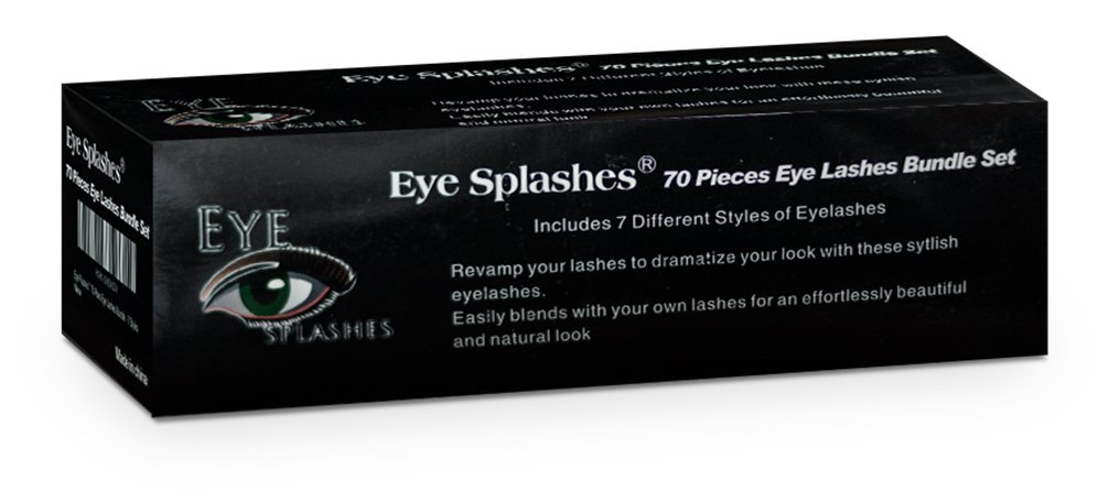 Salona Eye Splashes False Eyelashes Box