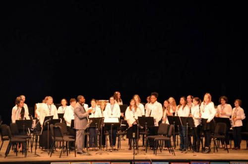 Brevard Academy Travel Band Performing at Disney World'