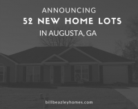 Announcing Our 52 New Home Lots Now in Augusta, GA