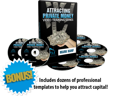 Attracting Private Money Video Training Series