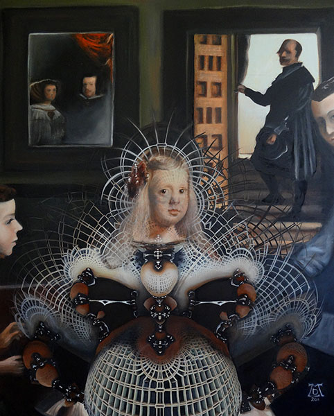 The Infanta as Valazquez's Strange Attractor'
