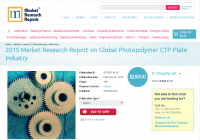 Global Photopolymer CTP Plate Industry Market 2015