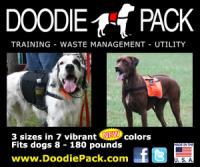 utility dog backpack