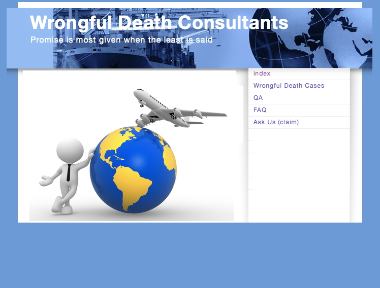 Wrongful Death Consultants Logo