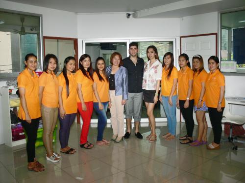CEO Jacomo Hakim & Thailand BookATailor Production Team'