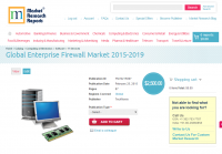 Global Enterprise Firewall Market 2015 - 2019