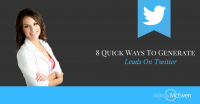 8 Quick Ways To Generate Leads On Twitter