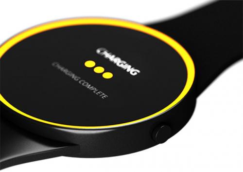 Simple, Stylish, Solar powered, Smart watch.'