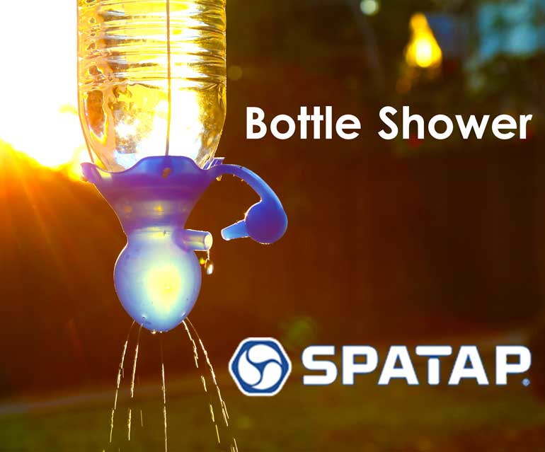 SpaTap Bottle Shower