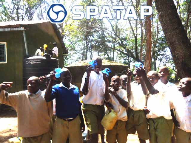 SpaTap Handwashing Project Camp Shower