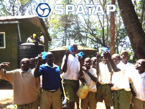 SpaTap Handwashing Project Camp Shower'