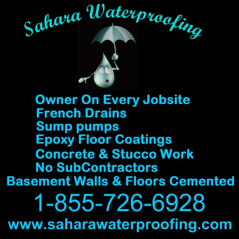 Sahara Waterproofing Logo