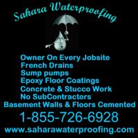 Sahara Waterproofing Logo