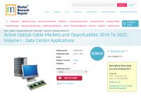 Active Optical Cable Markets and Opportunities: 2014 To 2022