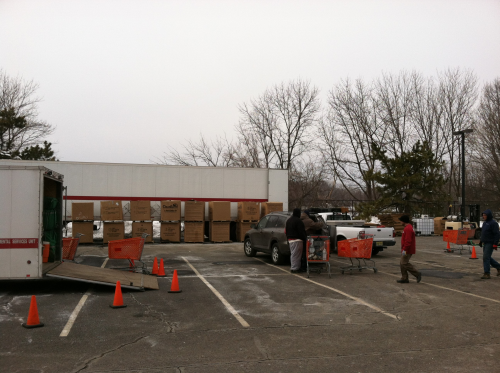 Onsite HHW Collection Event in Bergen County'