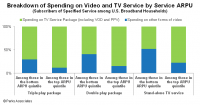 Breakdown of Spending on Video and TV
