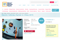 Electric Vehicles Market in China 2015