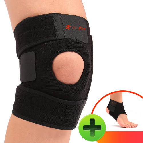 Knee + Ankle Brace'