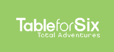 Logo for Table for Six Total Adventures'