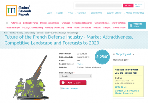 Future of the French Defense Industry'