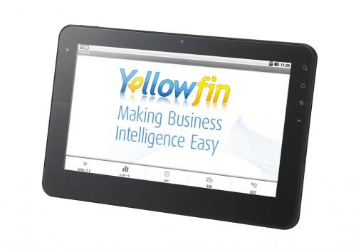 Yellowfin Mobile BI'