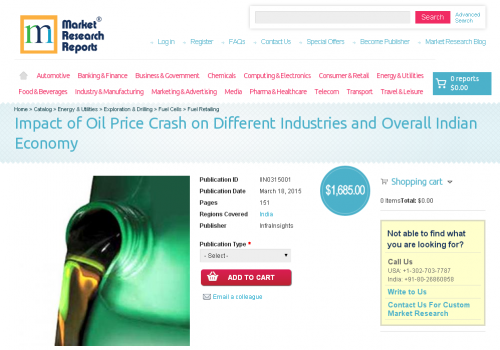 Impact of Oil Price Crash on Different Industries'
