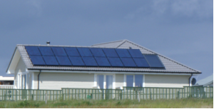 A solar installation by the Pure Energy Centre'