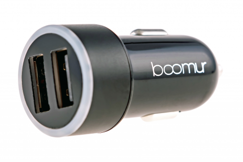 Boomur USB Car Charger for iPhone'