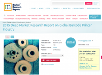 Global Barcode Printer Industry Market 2015
