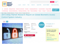 Global Biometric Access Control System Industry Market 2015