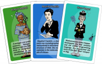 Women in Science - Card Game