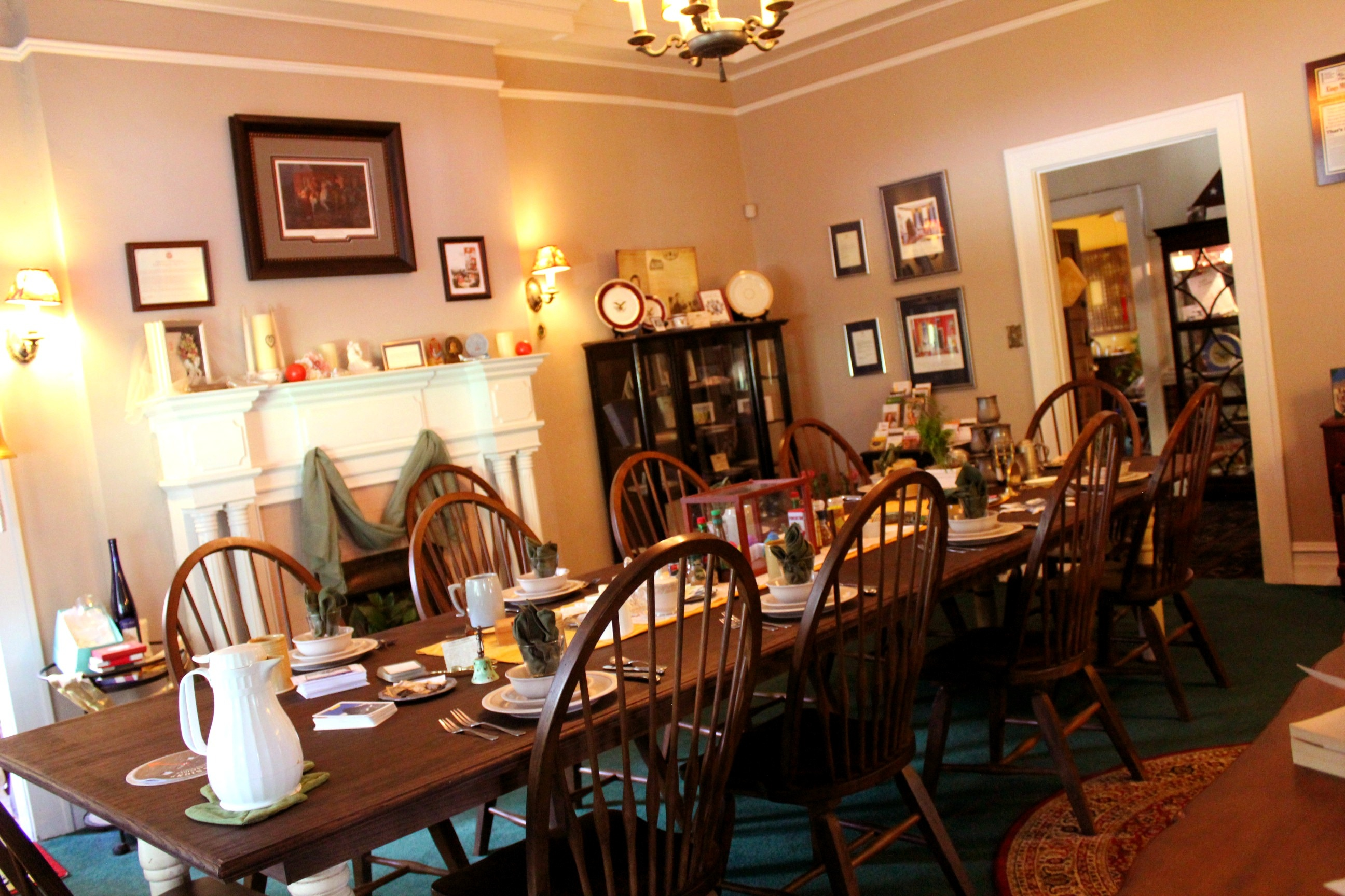 Family atmosphere dining