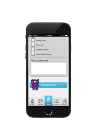 Keep track of caregiving tasks with the CareMonster App.
