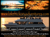 Lake Hickory Dinner Cruise and Charters