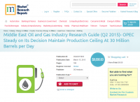Middle East Oil and Gas Industry Research Guide (Q2 2015)
