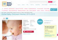 Global Baby Ointment Market 2015-2019