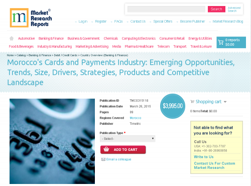 Morocco's Cards and Payments Industry'